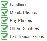 Tanzania National Phone Numbers are accessible from landlines, mobile phones, payphones, other countries and fax transmissions