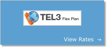 Tel3 - cheap international calls view rates