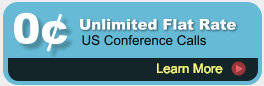 Unlimited Conference Calls - Flat Rate Unmetered Conference Calls