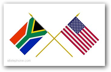 South Africa and USA conference call collaboration