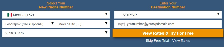 Virtual Phone Number VoIP SIP Database