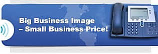 Voice Mail Big Business Image - Small Business Price